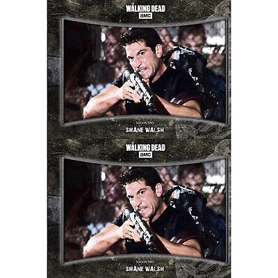 2x NO GUTS NO GLORY MARATHON SHANE WALSH Walking Dead Card Trader Digital