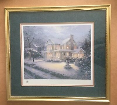 Thomas Kinkade, Placerville Victorian Christmas IV – Limited Ed. Gallery Proof