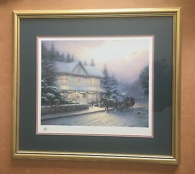 Thomas Kinkade, Placerville Victorian Christmas III – S/N Limited Edition