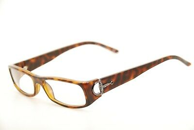 b2cfb60ec7e New Authentic Gucci GG 2584 66B Tortoise Brown 53mm Italy Frames Eyeglasses  RX