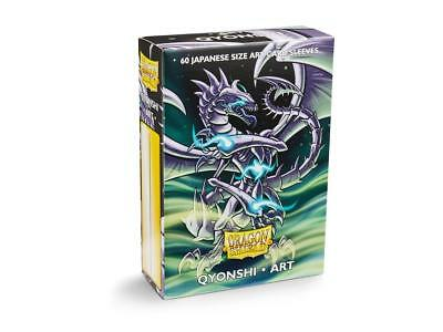 Dragon Shield Japanese Qyonshi Type 60 Protective Sleeves Card Sleeves 59x86