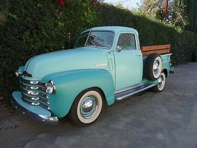 1947 Chevrolet Other Pickups  1947 Chevrolet PICKUP Truck THRIFTMASTER CHEVY GMC 2Tone Seafoam Green BLUETOOTH