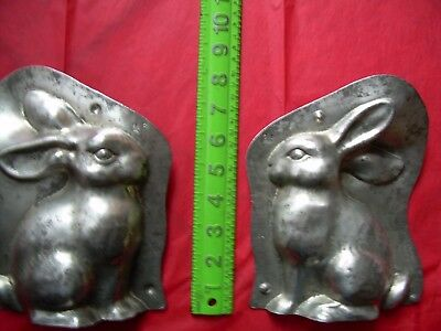 chocolate mold  antique mold  candy mold  Easter  bunny  rabbit