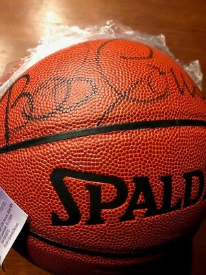 Bob Cousy signed basketball JSA Authenticated 7fdf824f3