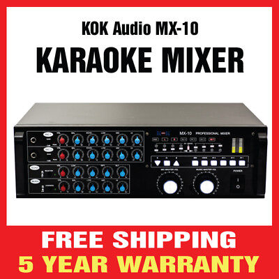 Kok Audio Professional Karaoke Speaker 8 Woofer 400 Watts As 208