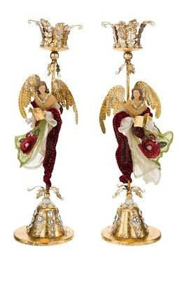 Mark Roberts collectible Angel 1-Piece Candle Holder 21'' 11-70760PK