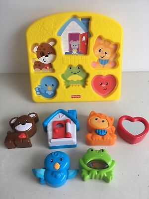 Fisher Price Activity Puzzle First Puzzle Baby Toddler