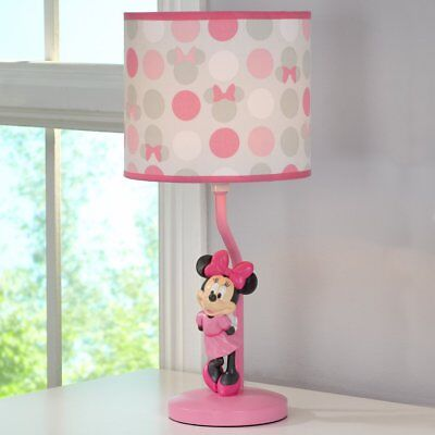 Minnie Mouse Polka Dots Lamp Base and Shade by Disney