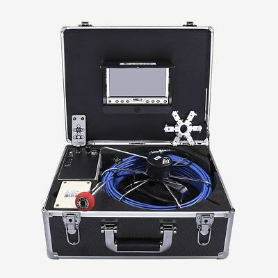 Eyoyo 35M Cable Pipe Sewer Inspection Endoscope Camera 7inch 92°Angle 1000TVL