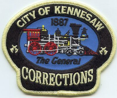 KENNESAW GEORGIA GA train DOC CORRECTIONS police PATCH