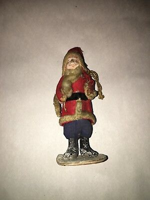 Antique Vintage Japanese Santa Claus Figure Good Condition