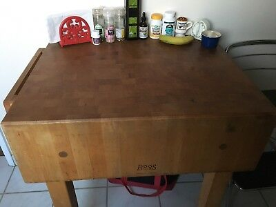 Boos Butcher Block Table