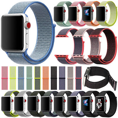 Nylon Intrecciato Loop Cinturino Banda Sport Bracciale Per Watch Apple  1 2 3  cd2ebf5a97d
