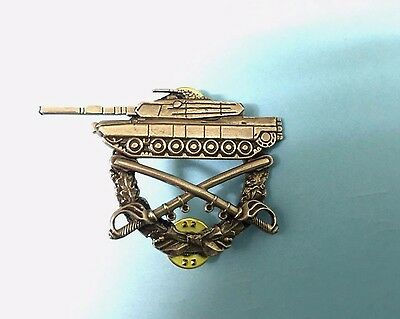 U.s.  M-1 Abrams Combat Service Commemorative Badge