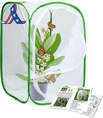 Restcloud Insect And Butterfly Habitat Cage Terrarium Pop-Up