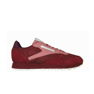 94e14667b8a Reebok Classic Leather Sm (RUGGED MAROON SANDY ROSE ) Men s Shoes BS5228