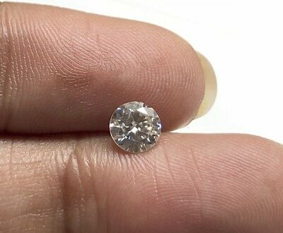 1.13CTW/6.8 MM Brilliant Cut GH/VS2 Colorless Moissanite Diamond Loose MM140/15