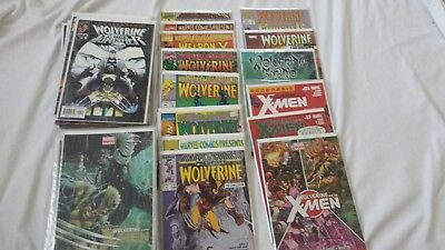Wolverine Mixed Comic Lot of 41 Punisher Iron Fist Logan X-Men Marvel Presents