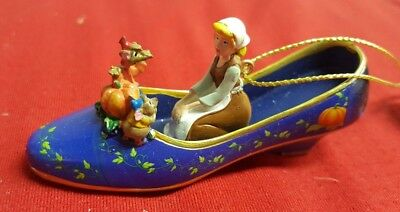 NEW Disney Once Upon A Slipper Cinderella Wishes Do Come True Ornament Set Six