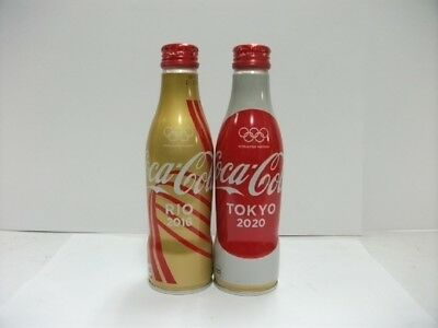Rio to Tokyo Olympic Special Coca Cola Aluminum Full 250ml 2 bottle Japan