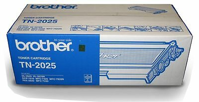 Brother TN-2025 Black Toner Cartridge for HL-2040/2070N, FAX-2820/2920  Box of 3