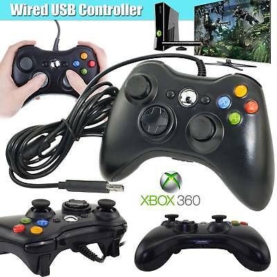New USB Wired Xbox 360 Controller Game Pad For Microsoft Xbox 360 Windows PC
