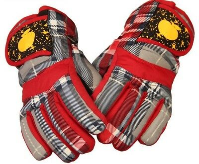 Snowboard Winter Gloves For Toddlers Boys Girls Non-Slip Comfortable Mittens New