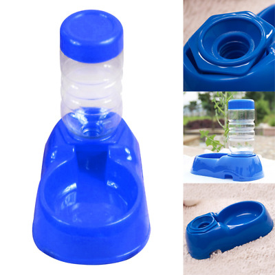 Pet's Automatic Water Bottles Dispenser Food Dish Bowl Feeder For Dogs And Cats