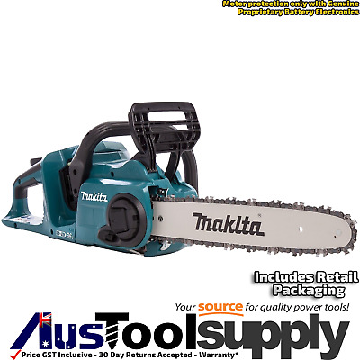"Makita 36V 18Vx2 Li-Ion Cordless Brushless 350Mm 14"" Chainsaw  Skin Only Duc353Z"