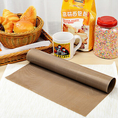 Greaseproof Silicon Cooking Oven Baking Mat Bakeware Sheet Kitchen Pad  New