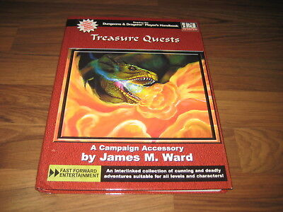 d20 Treasure Quests Adventure 2002  HC Fast Forwand Entertainment