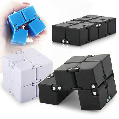 1PC Infinity EDC Cube Creative Fidget Cube Toy Anti Stress Relief Hand Spinner