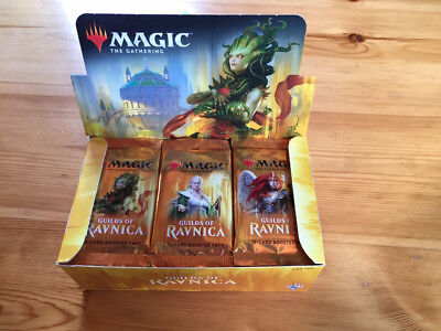 GUILDS OF RAVNICA Booster Display - Magic The Gatherinng **36 BOOSTER**