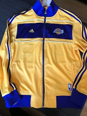 LAKERS Chaqueta Adidas   / 16x NBA CHAMPS RING CEREMONY / Adidas on court Jacket