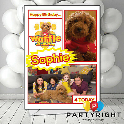 Personalised Waffle Wonder Dog Christmas Card
