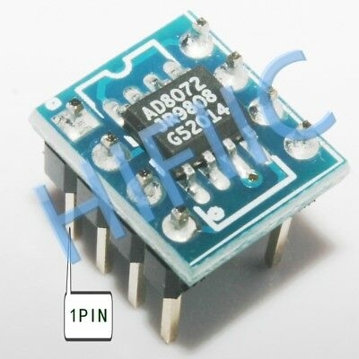 1PCS AD9850BRS On SOIC TO DIP adapter