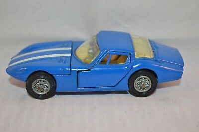 CORGI TOYS  324    Marcos 1800 G.T. with Volvo engine. Mid-blue version.