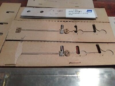 Job Lot 10 x  400 day clock suspension spring wire unit Schatz Kern Kundo