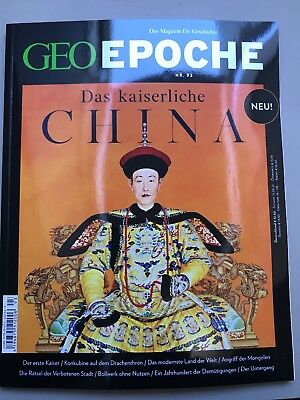 GEO Epoche Nr. 93 Das Kaiserliche China
