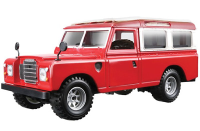 1:24 Scale Model - Land Rover Series II - Red - Great Stocking filler