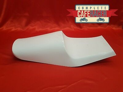 Z Style Fibreglass Cafe Racer Seat Finished In White