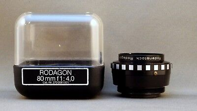Rodenstock Rodagon 5,6/80mm Objektiv enlarger lens *9319593*