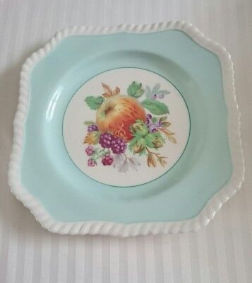 Johnson Brothers Mint Green Square Fruit Plate