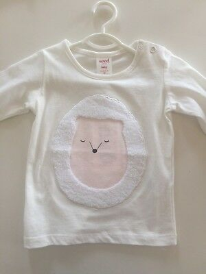 Seed baby girl top size 00 - BNWT