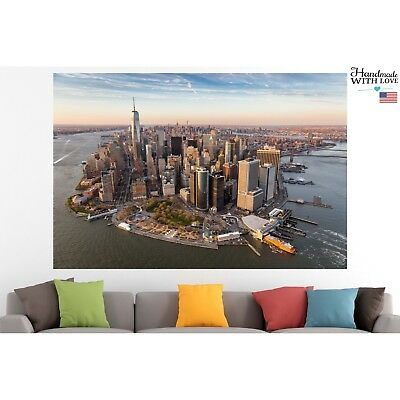 New York City Poster Print Canvas Panorama Wall Art Pin Up Room Decor Motivation