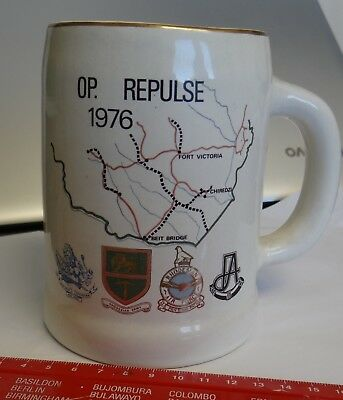 Rhodesia Mug - Operation Repulse 1976