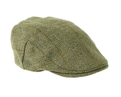 Fox Derby Tweed Flat Cap