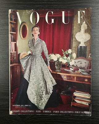 VOGUE Magazine September 1950