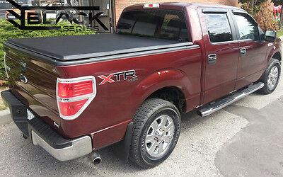 Ford F150 5.5Ft Short Box - 2004-2014 - Tri-Fold Cover   Tonneau Bed Cover