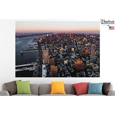 New York Poster Print Canvas Cityscape Wall Art Pin Up Room Decor Motivation
